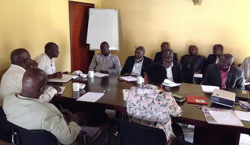 Farmers Meeting: Kyazanga, Bigasa Kitanda & Lwengo Meat Coop. Society reps