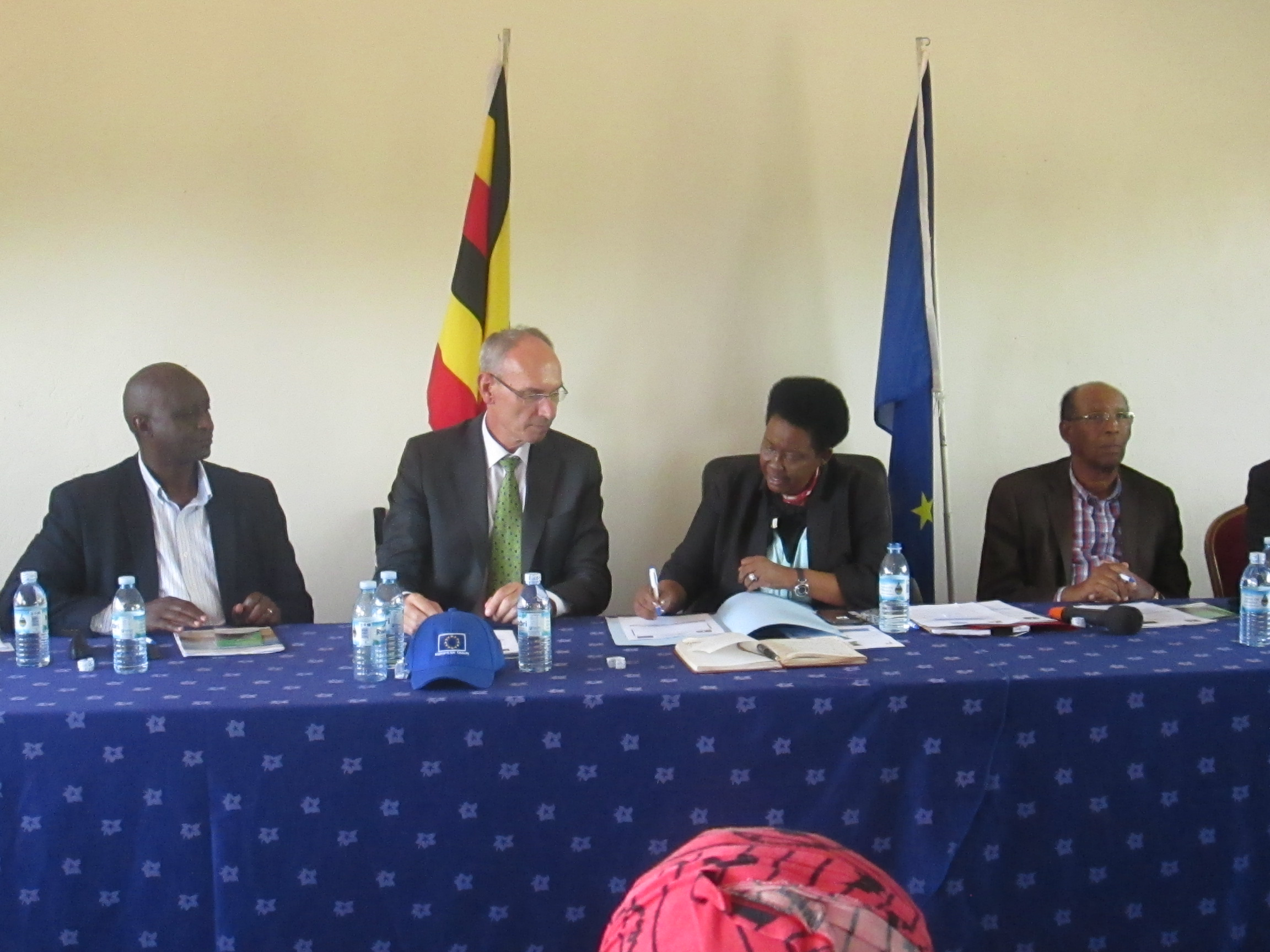 E.U partners with Uganda Meat Producers Cooperative Union to develop the meat industry